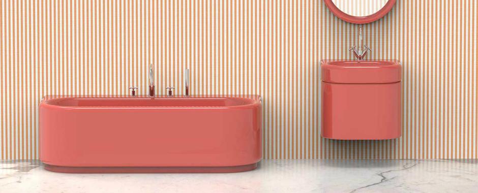 India Mahdavi Blends Colors and Curves at Milan Design Week 2018