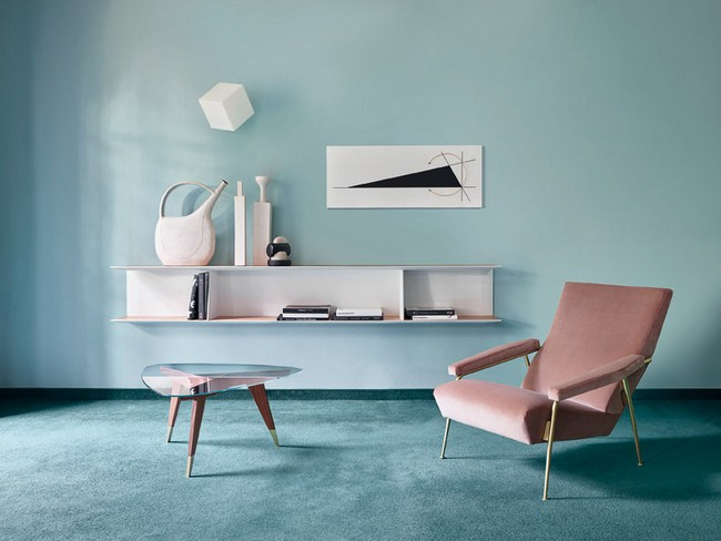 see the amazing gio ponti exhibition at the mus e des arts. Black Bedroom Furniture Sets. Home Design Ideas