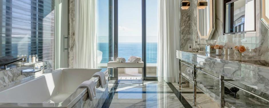 Be Amazed by the Unique Bathroom Suites of Hotel de Paris Monte-Carlo