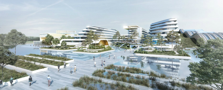 Discover the 8 Buildings that Will Be a Part of EuropaCity near Paris