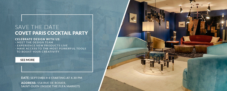 Covet Paris to Host Cocktail Party in the Wake of Paris Design Week Paris Design Week Covet Paris to Host Cocktail Party in the Wake of Paris Design Week featured