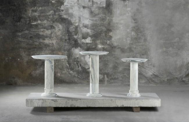 See Karl Lagerfeld's New Marble Exhibit at Carpenters Workshop Gallery 2