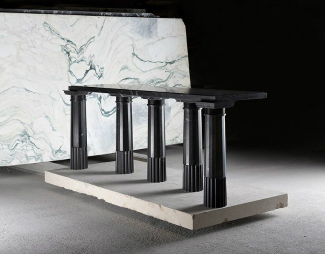 See Karl Lagerfeld's New Marble Exhibit at Carpenters Workshop Gallery 3