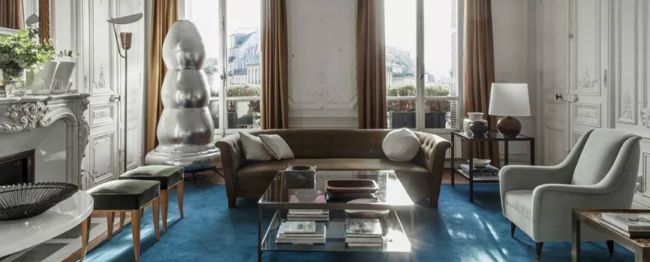 Top Interior Design Projects: Eclectic Parisian Home by Luis Laplace