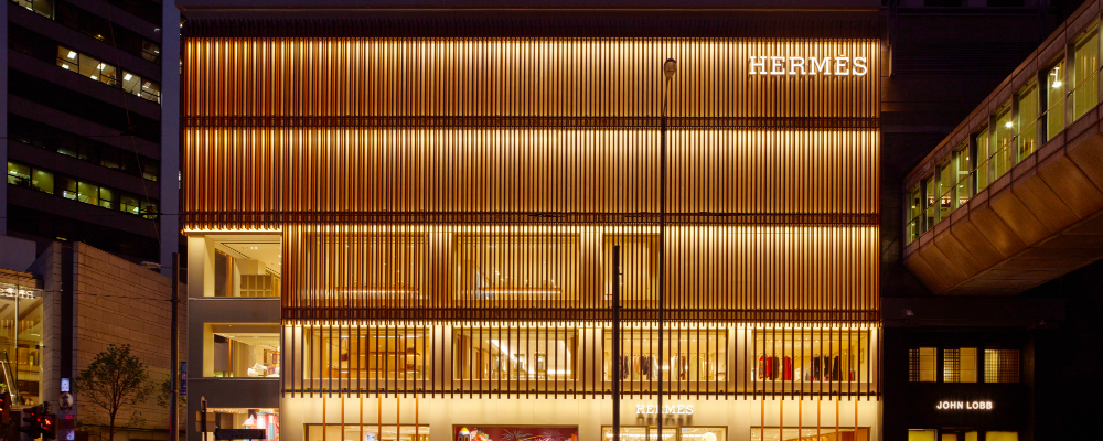 Hermes Store Preview a Hermes Store Project in Hong Kong by Paris-based Agency RDAI featured 12