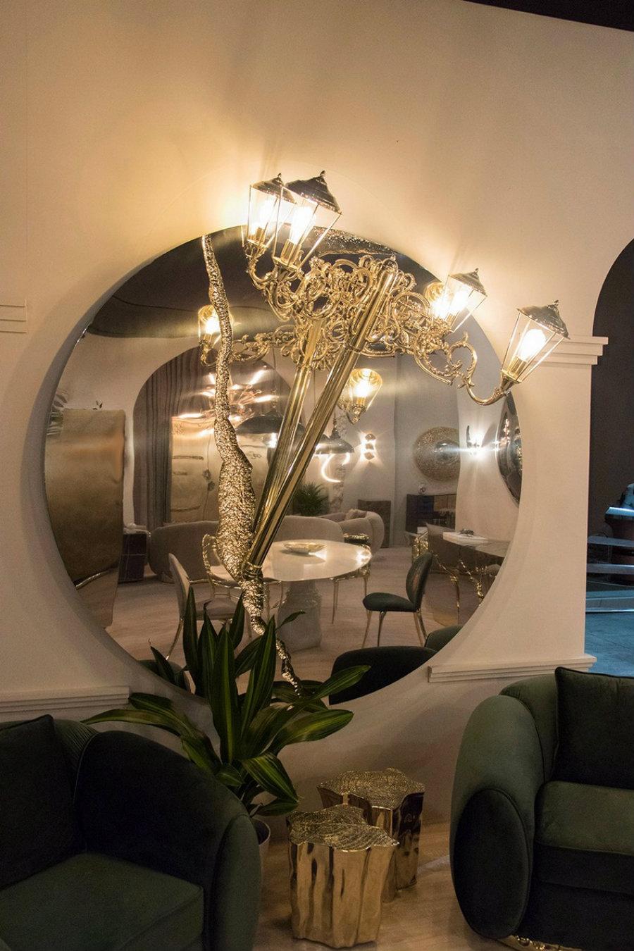maison et objet MAISON ET OBJET : A LOOK INTO SOME OF THE NEW PIECES lumiere round mirror