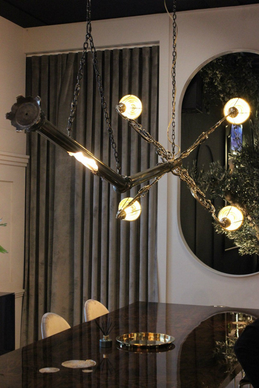 maison et objet MAISON ET OBJET : A LOOK INTO SOME OF THE NEW PIECES lumiere suspension lamp