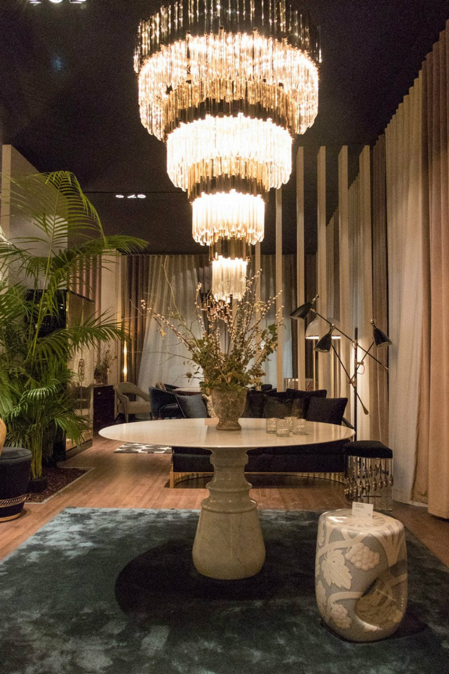 MAISON ET OBJET : A LOOK INTO SOME OF THE NEW PIECES maison et objet MAISON ET OBJET : A LOOK INTO SOME OF THE NEW PIECES turned oval dining table