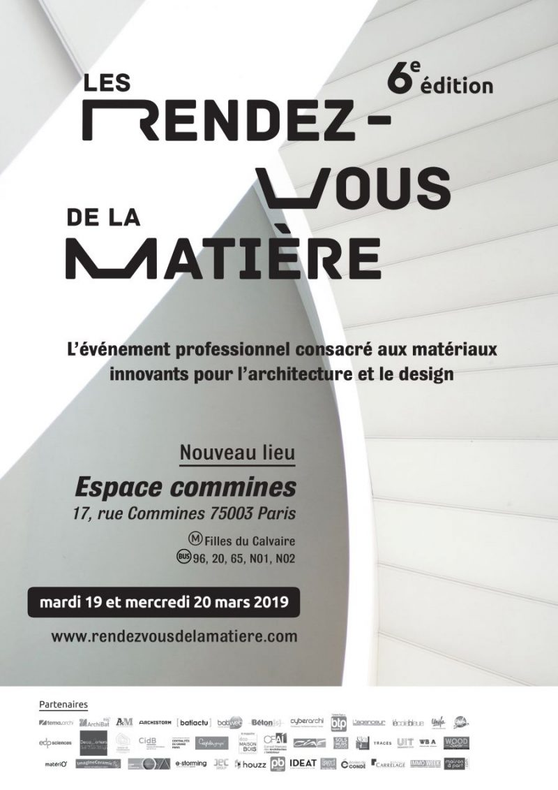 Breathe Architecture On This Year's Rendez Vous de la Matiére 2019 rendez vous de la matiere Breathe Architecture On This Year's Rendez Vous de la Matière 2019 20190118155445 0 e1551366332437
