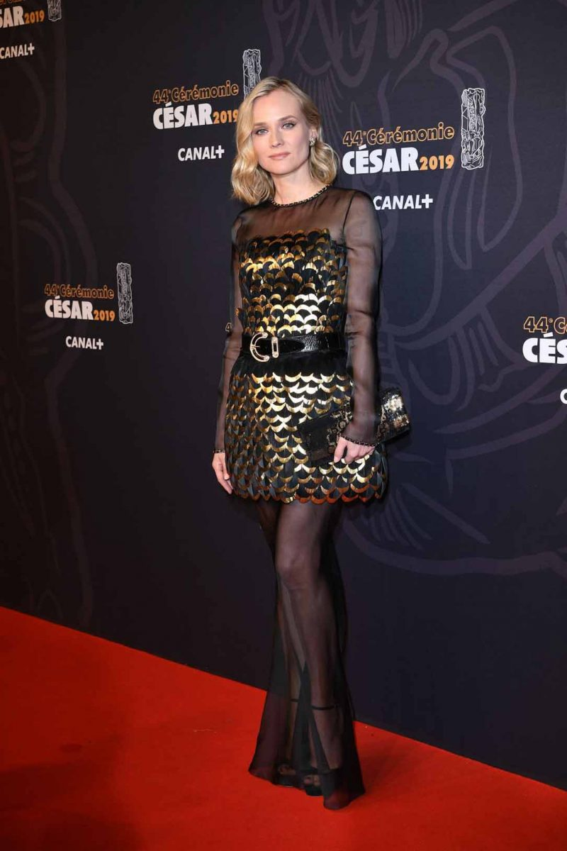 Discover The Trends At The 2019 Cesár Awards Red Carpet 2019 césar awards red carpet Discover The Trends At The 2019 Cesár Awards Red Carpet Diane Kruger Attends 2019 Cesar Film Awards e1551203361613