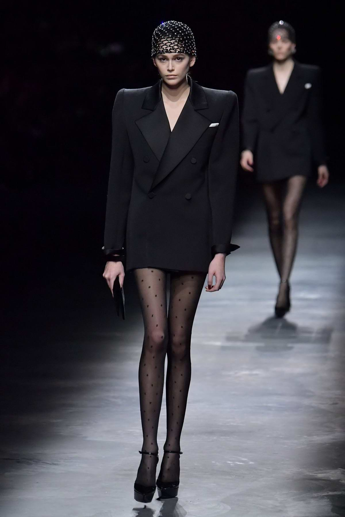 2019 paris fashion week Explore The Top Designers And Their Trends At 2019 Paris Fashion Week kaia gerber walks the runway at the saint laurent show during paris fashion week womenswear fall winter 2019 2020 in paris france 260219 5