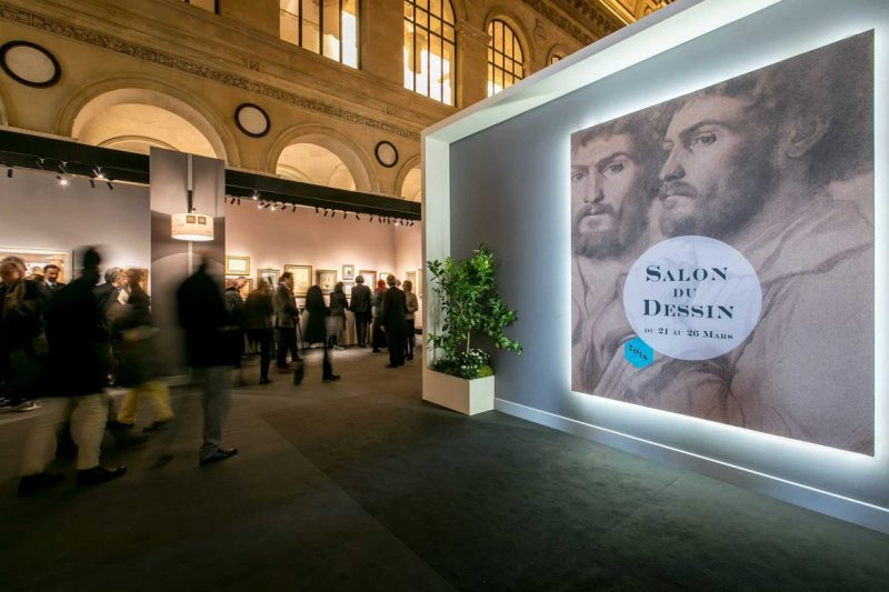 Salon Du Dessin 2019, The Major Event For Drawing Collections salon du dessin 2019 Salon Du Dessin 2019, The Major Event For Drawing Collections Salon du Dessin 2018 Tanguy de Montesson 009 e1553013160956