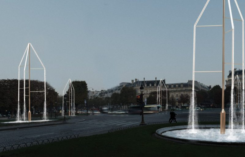 Bouroullec Brothers Transform Paris Fountains With Swarovski Crystals bouroullec brothers swarovski Bouroullec Brothers Transform Paris Fountains With Swarovski Crystals bouroullec brothers paris fountains installation design dezeen 2364 col 10 e1553592099124