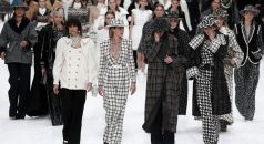Chanel Presents Karl Lagerfeld's Last Designed Collection [object object] Chanel Presents Karl Lagerfeld's Last Designed Collection cara delevningne chanel finale 1551782590 238x130