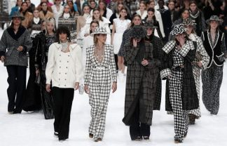 Chanel Presents Karl Lagerfeld's Last Designed Collection [object object] Chanel Presents Karl Lagerfeld's Last Designed Collection cara delevningne chanel finale 1551782590 324x208