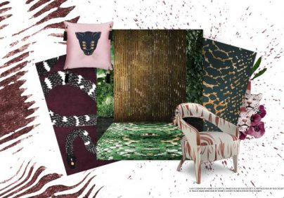Animal Print, The Perfect Trend To Your Home Décor animal print trend Animal Print, The Perfect Trend To Your Home Décor moodboard collection animal print interior decor trend for 2019 12 700x438 404x282