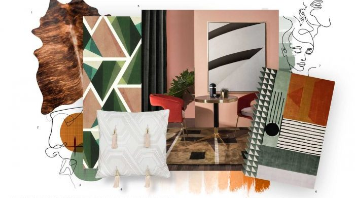 The Best Ideas for a Mid-Century Style Trend mid century style trend The Best Ideas for a Mid-Century Style Trend moodboard collection mid century style interior decor trend for 2019 16 700x438 700x390
