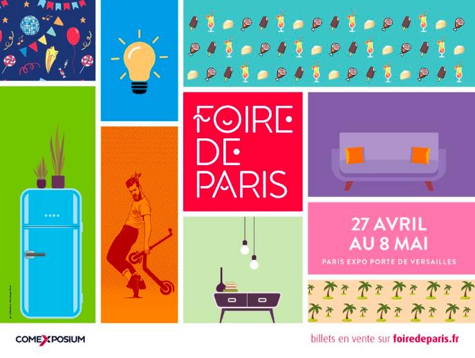 Foire de Paris, The Grand Paris Expo You Can't Miss [object object] Foire de Paris 2019, The Grand Paris Expo You Can't Miss Captura de ecra   2019 04 16 a  s 11
