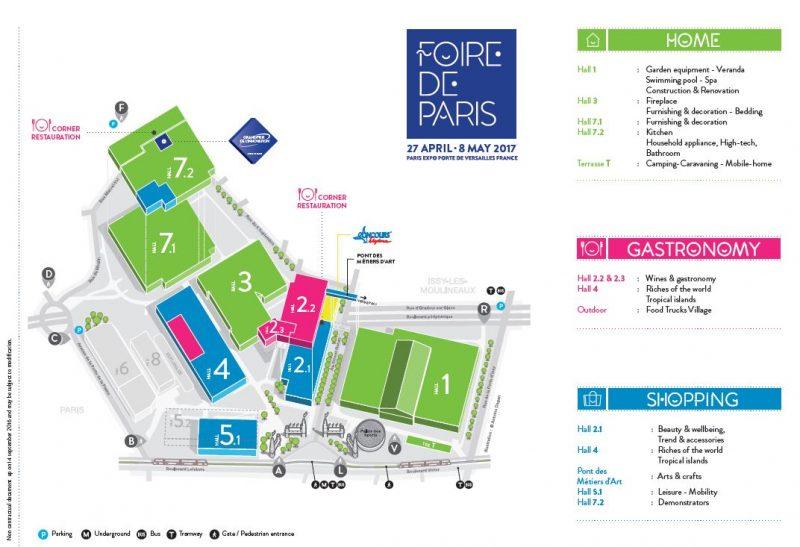 Foire de Paris 2019, The Grand Paris Expo You Can't Miss [object object] Foire de Paris 2019, The Grand Paris Expo You Can't Miss Plan Foire de Paris 2017 UK e1555414192188