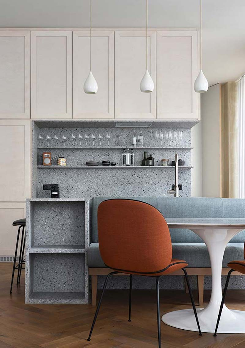 Atelier Du Pont Creates A Trendy Project On A Paris Apartment atelier du pont Atelier Du Pont Creates A Trendy Project On A Paris Apartment apartment refurbishment by atelier du pont 03 1