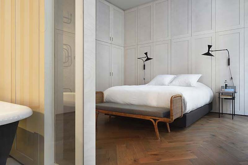 Atelier Du Pont Creates A Trendy Project On A Paris Apartment atelier du pont Atelier Du Pont Creates A Trendy Project On A Paris Apartment apartment refurbishment by atelier du pont 06 1