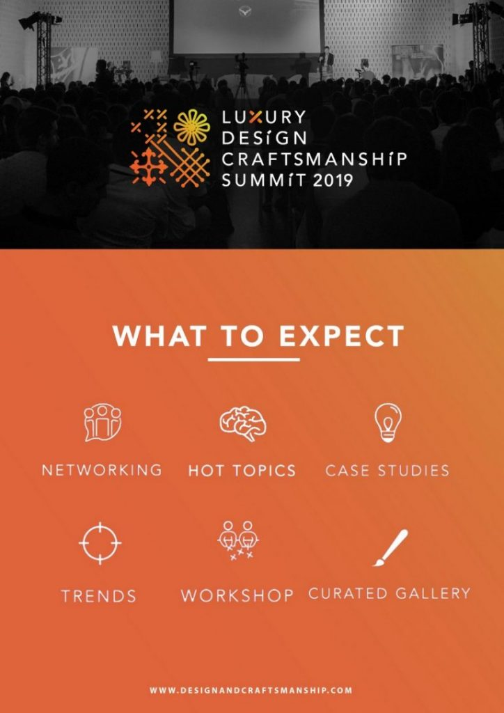 Get Ready For The Eventful 2º Luxury Design & Craftsmanship Summit luxury design & craftsmanship summit Get Ready For The Eventful 2º Luxury Design & Craftsmanship Summit LDC3 768x1086