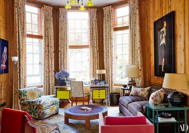 Observe This Historic London Townhouse From Jacques Grange