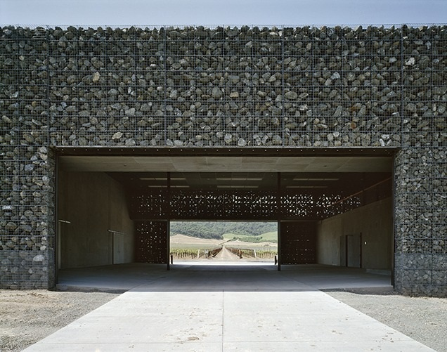 Herzog & De Meuron: When Excellence Meets Architecture  herzog & meuron Herzog & De Meuron: When Excellence Meets Architecture Dominus Winery California