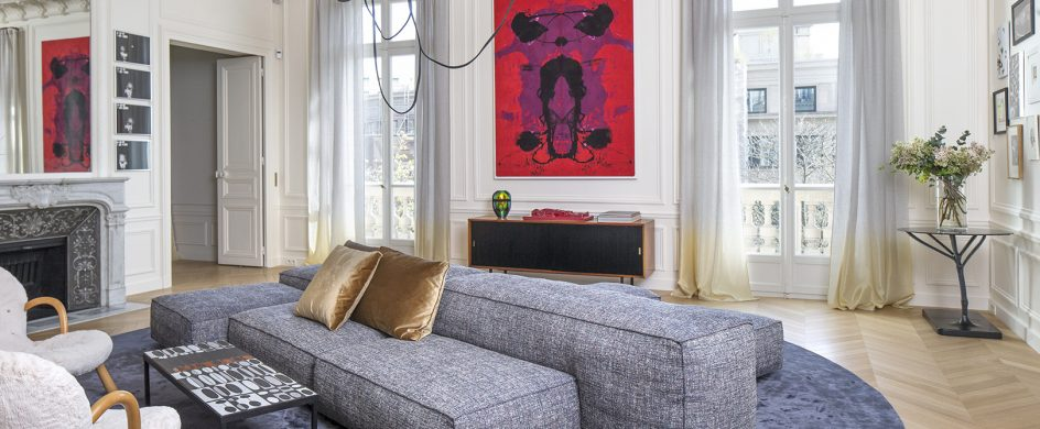 Discover Top 10 French Interior Designers Based in Paris - Part III french interior designers Discover Top 10 French Interior Designers Based in Paris – Part III Rodolphe Parente Appartement Trocadero 02 944x390