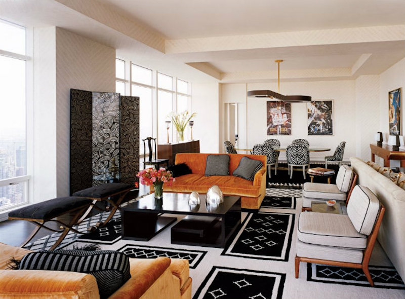 Admire These Living Room Projects From Top French Interior Designers living room Admire These Living Room Projects From Top French Interior Designers best interior designers Alberto Pinto contemporary living room