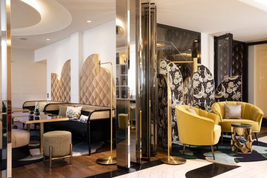 [object object] Meet The Ostentatious Decor At Hotel Victor Hugo Paris Kléber Meet The Ostentatious Decor At Hotel Victor Hugo Paris Kl  ber