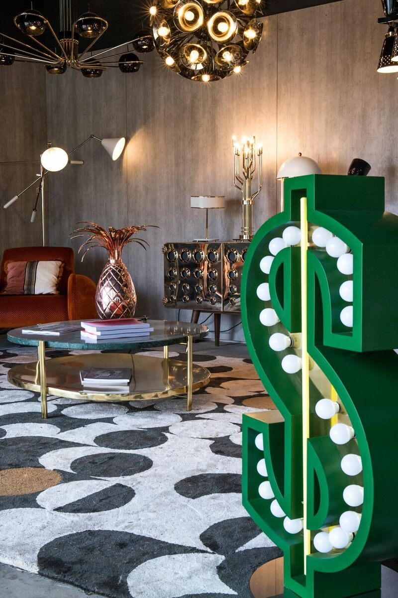 paris showroom Paris Showroom Sits On The Most Exclusive Modern Mid-Century Pieces 3mZV93dE