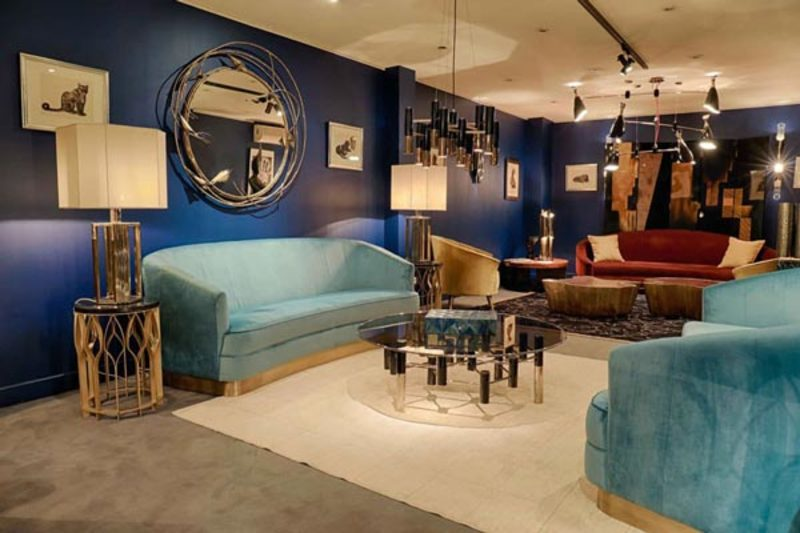 paris showroom Paris Showroom Sits On The Most Exclusive Modern Mid-Century Pieces Paris Showroom Sits On The Most Exclusive Modern Mid Century Pieces 1